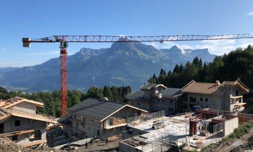 Chantier Axe Ohm entreprise d'électricité Bellegarde sur Valserine